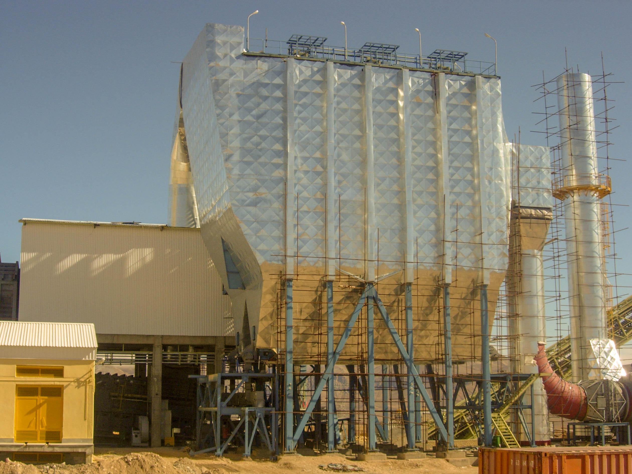Electrostatic precipitator –Faraz Firouzkouh cement
