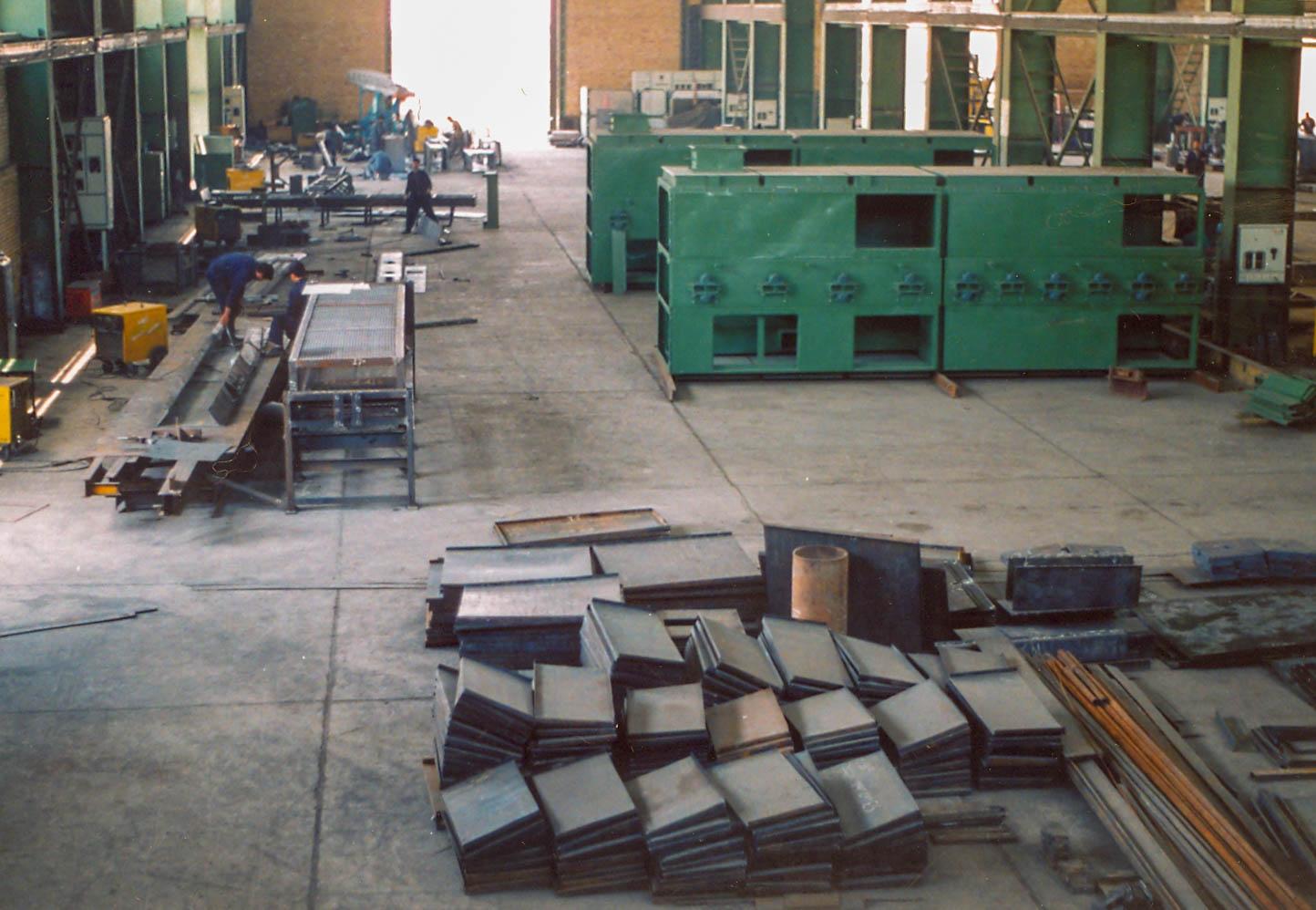 Lia fiber glass production