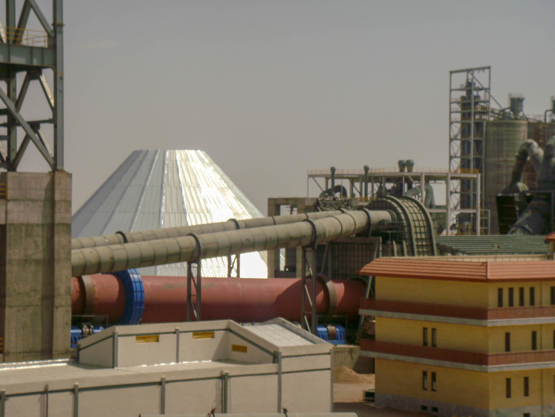 Rotary Kiln, Kiln Hood & Tertiary Air Duct –Naein Cement