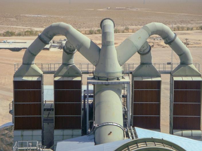 Air to Gas Heat Exchanger – Naein Cement
