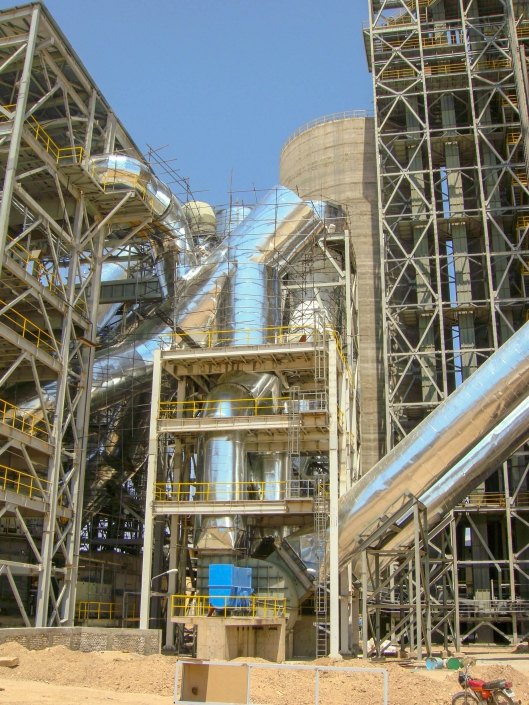 Hot Gas Ducts –Naein Cement