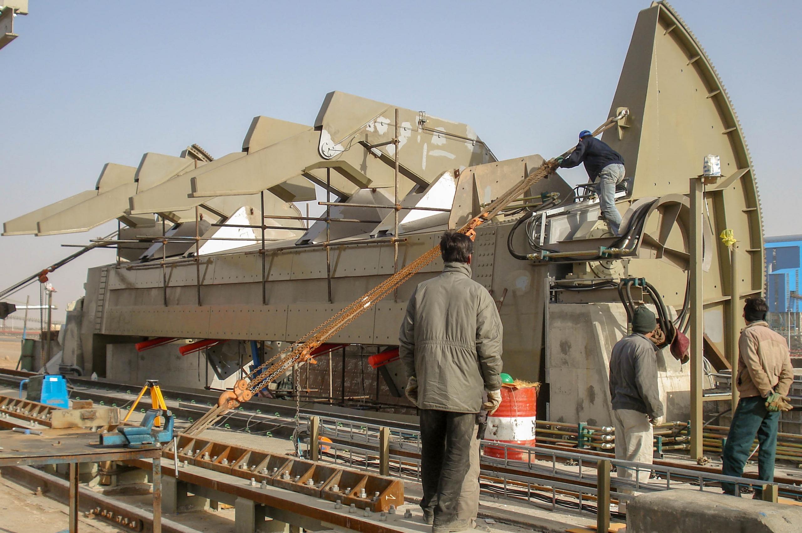 Wagon Dumper – Ardakan Pelletizing Plant