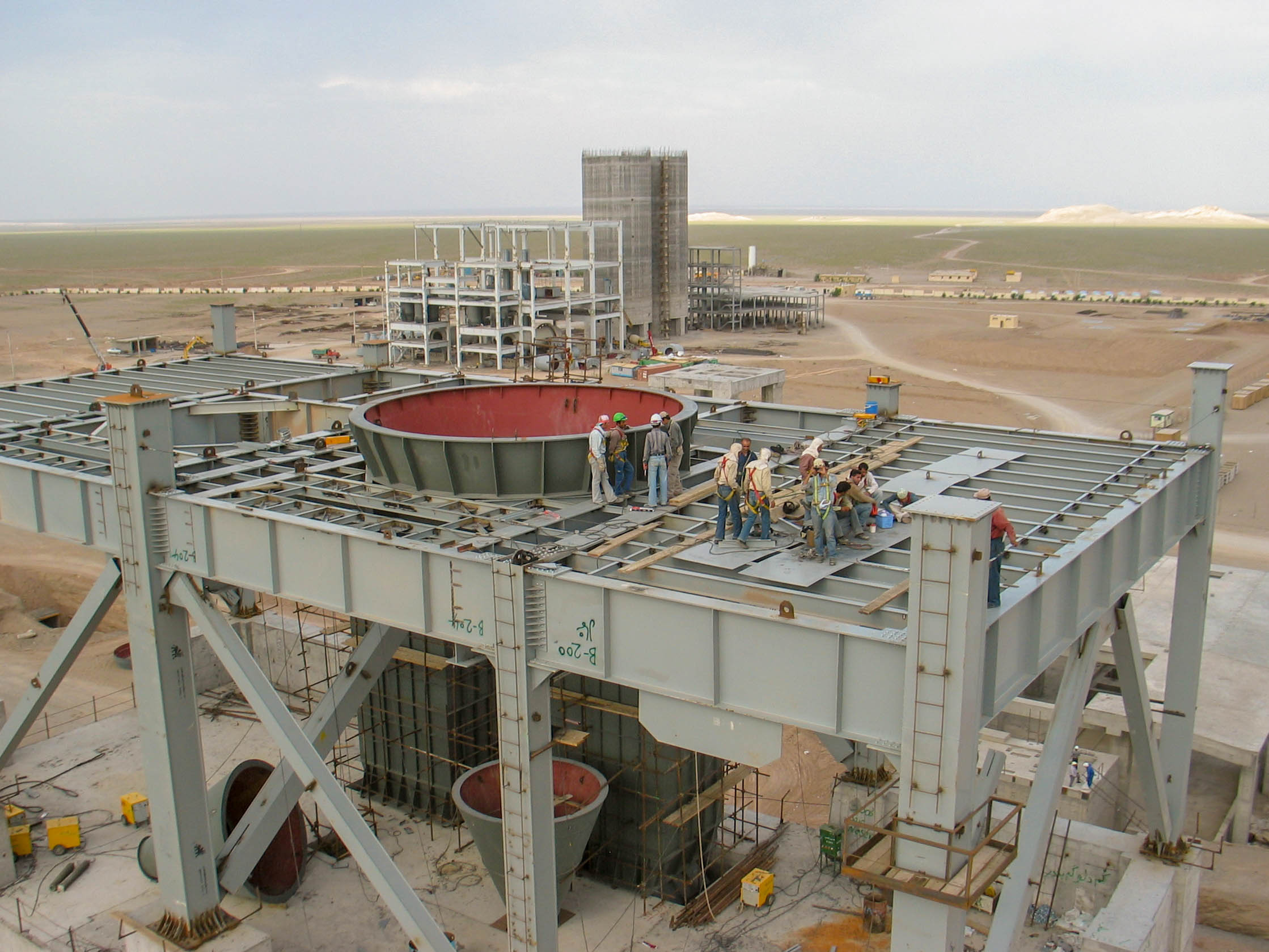 Preheater of Naein Cement-16