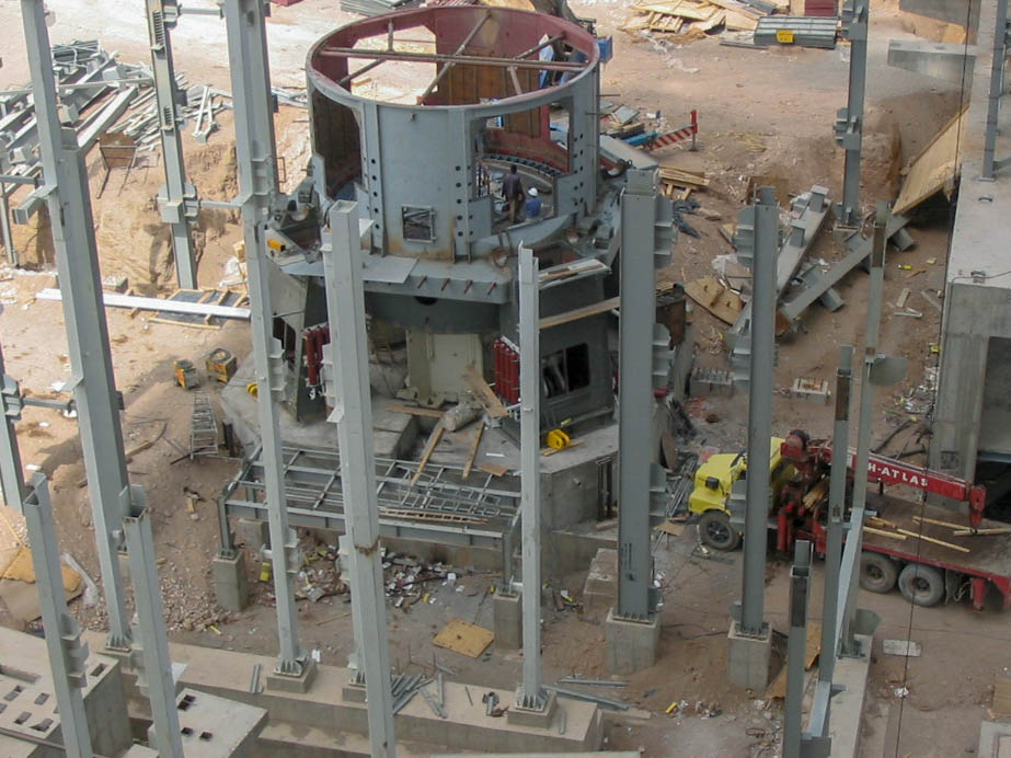 Vertical Mill of Naein Cement-17