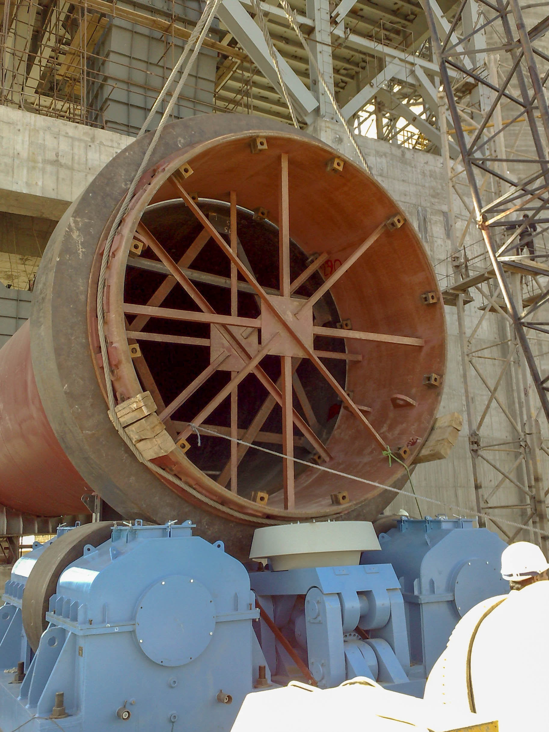 Rotary Kiln of Naein Cement-18