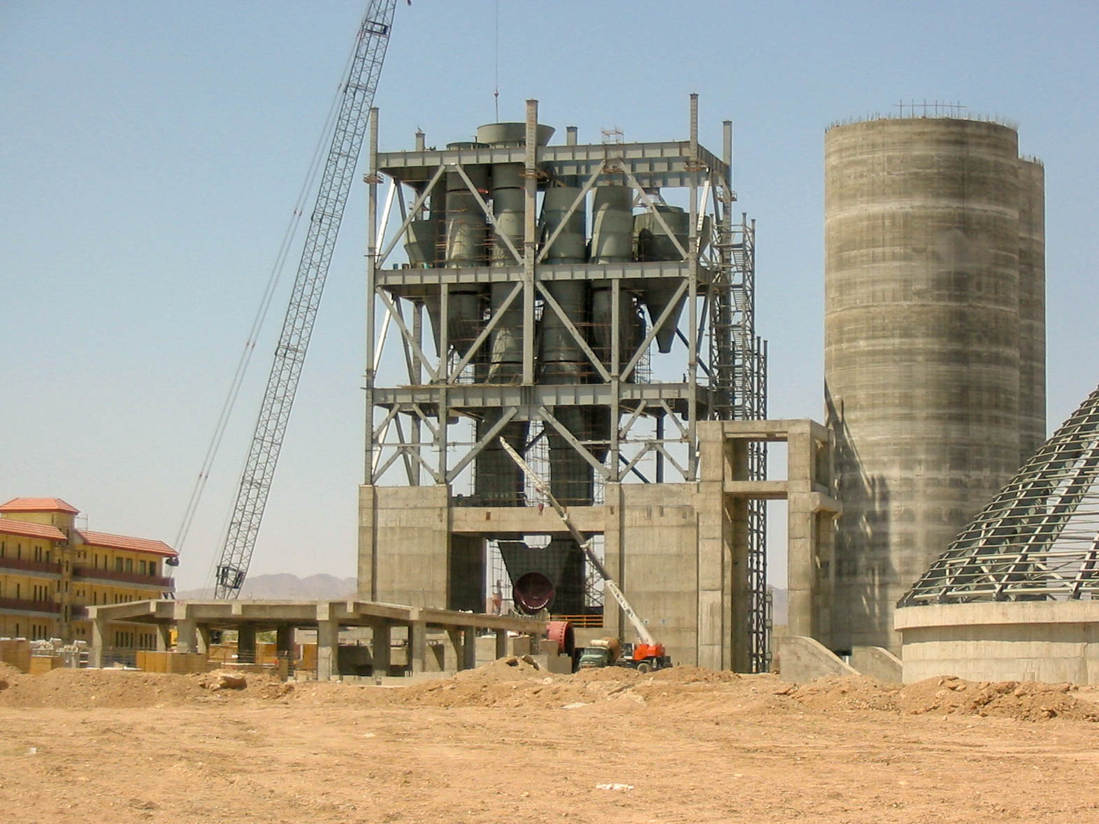 Preheater of Naein Cement-20