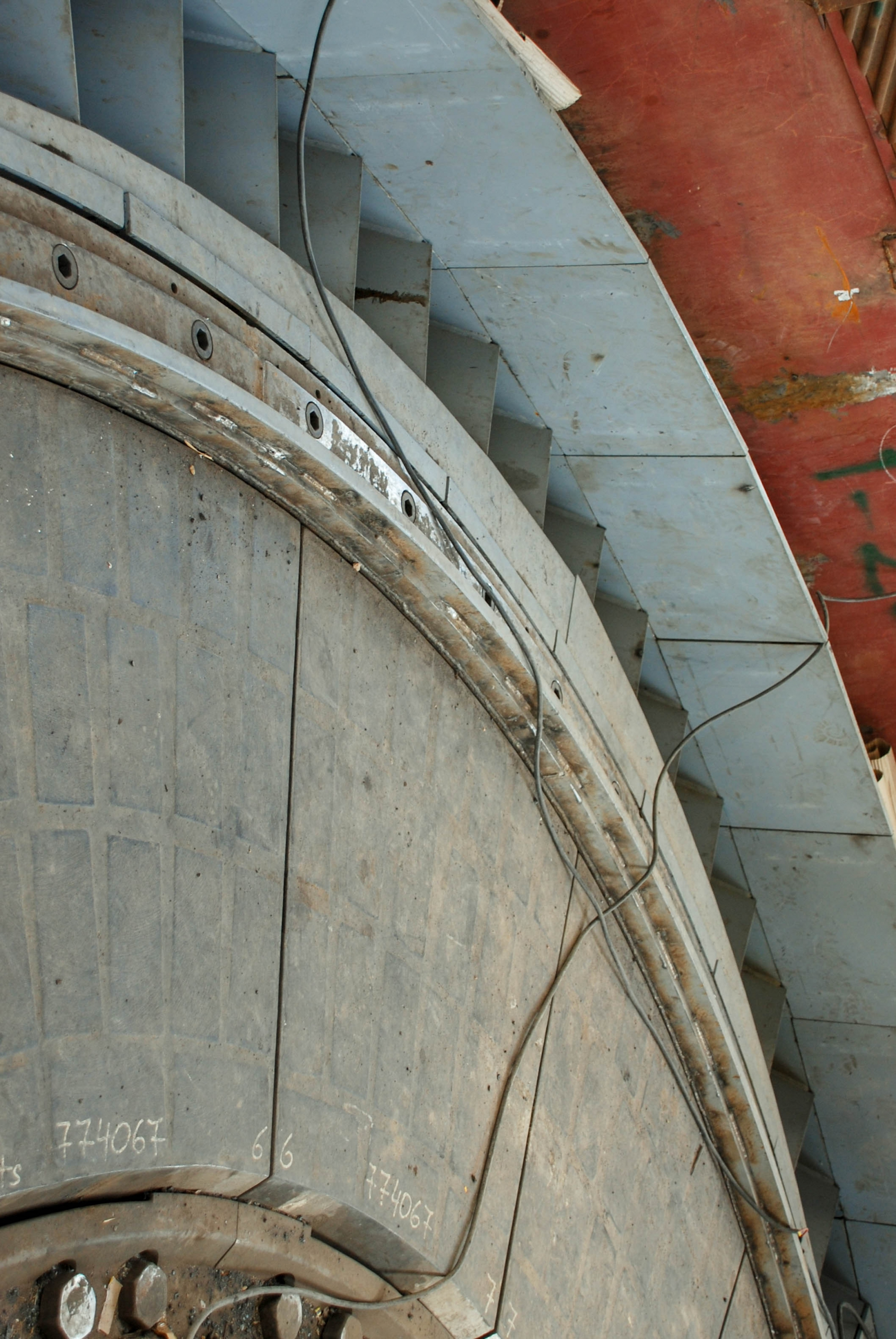 Vertical Mill of Naein Cement-20
