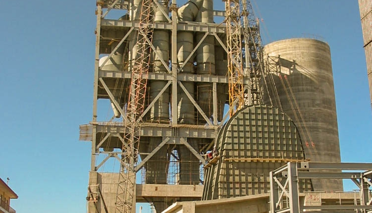Preheater of Naein Cement-22