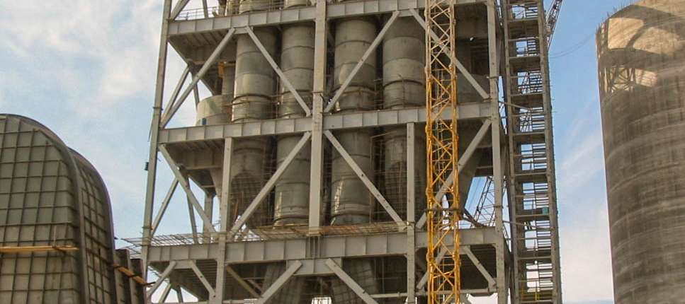 Preheater of Naein Cement-23