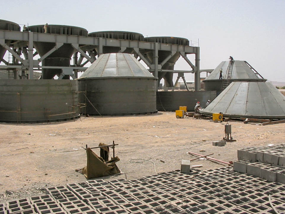 Bunkers of Naein Cement-24