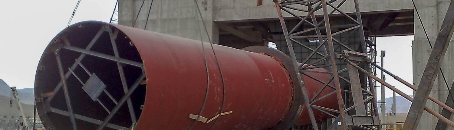 Rotary Kiln of Naein Cement-24