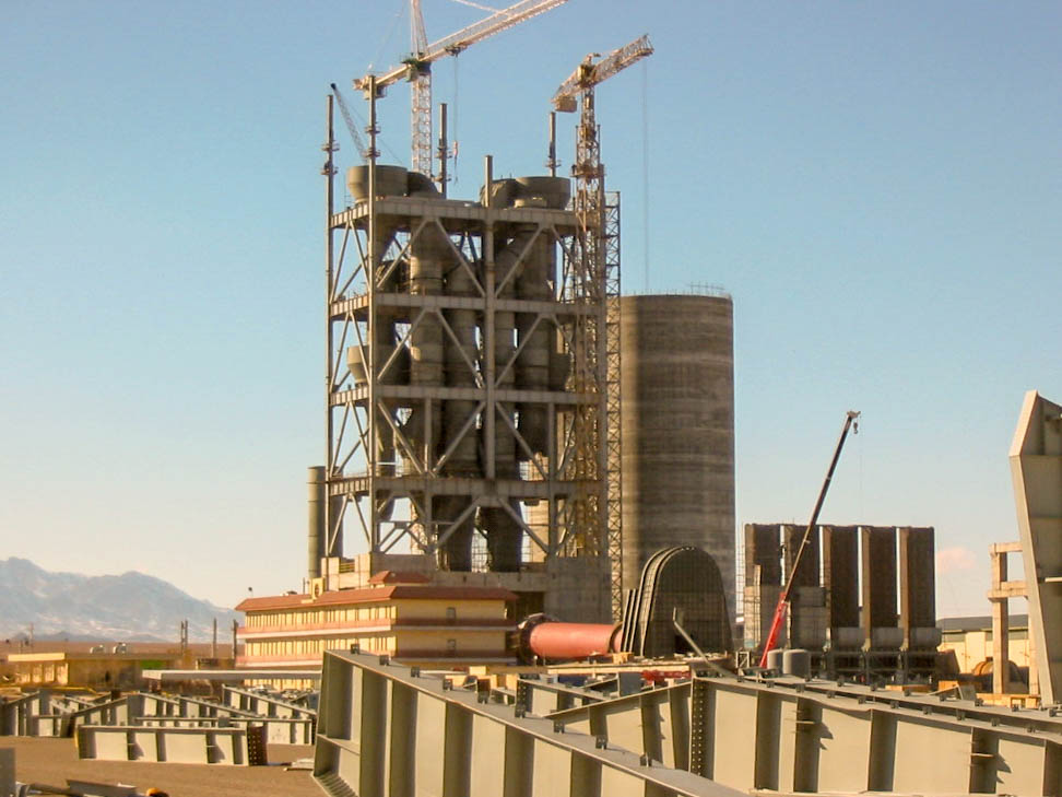 Preheater of Naein Cement-24