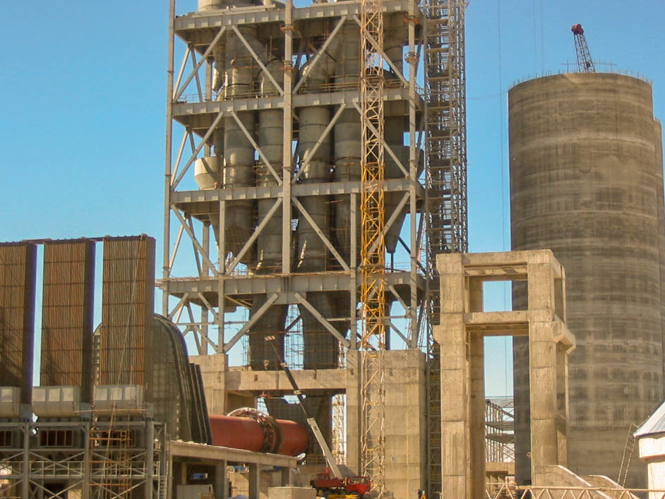 Preheater of Naein Cement-25