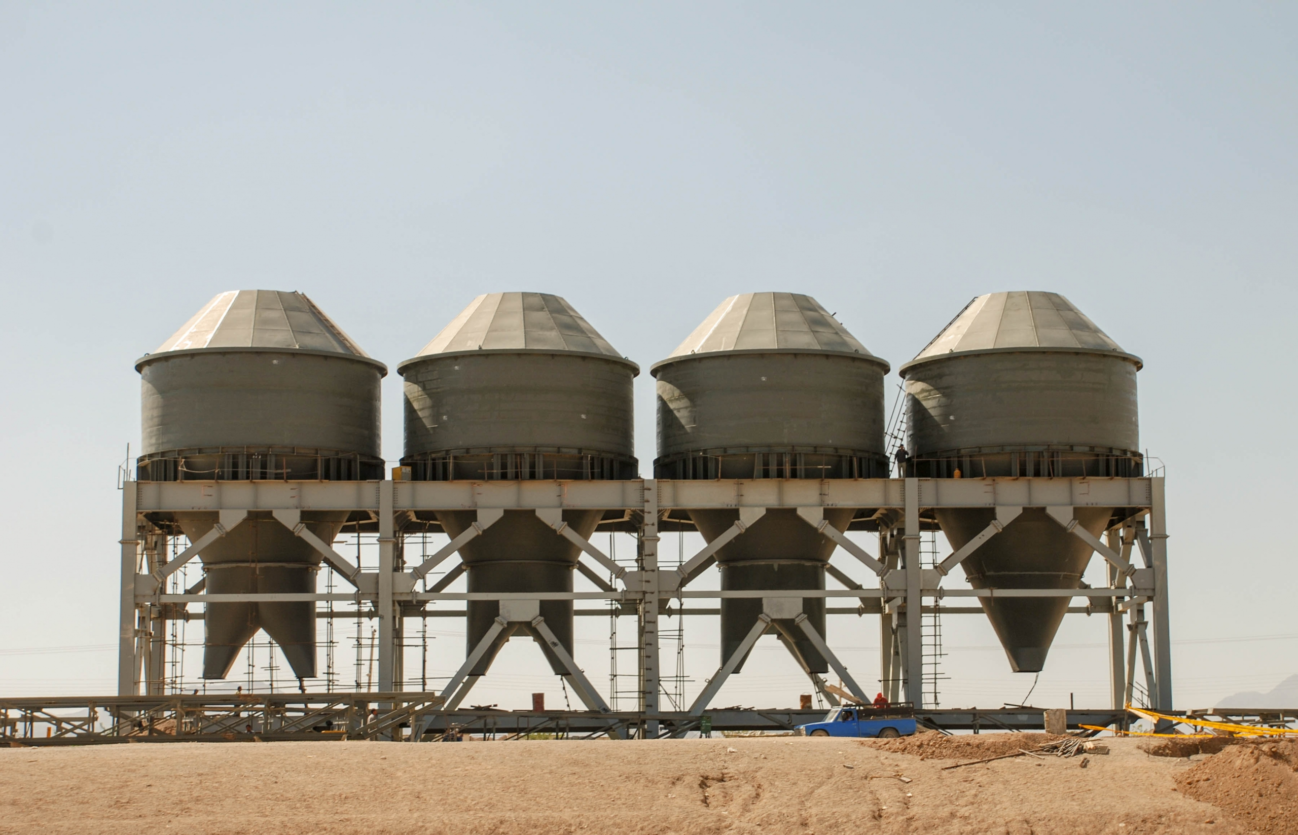 Bunkers of Naein Cement-26