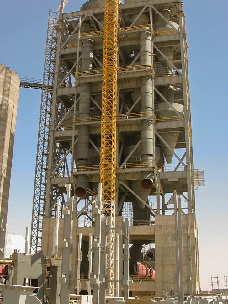 Preheater of Naein Cement-27