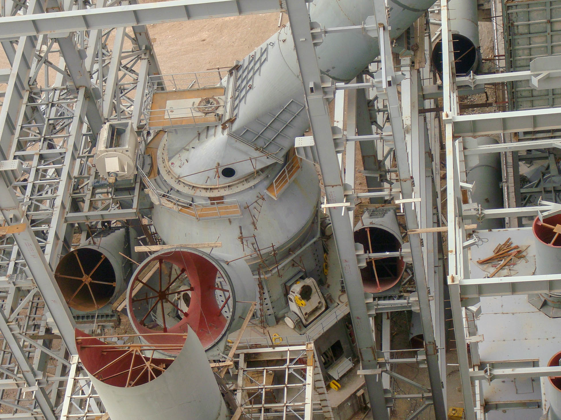 Vertical Mill of Naein Cement-27