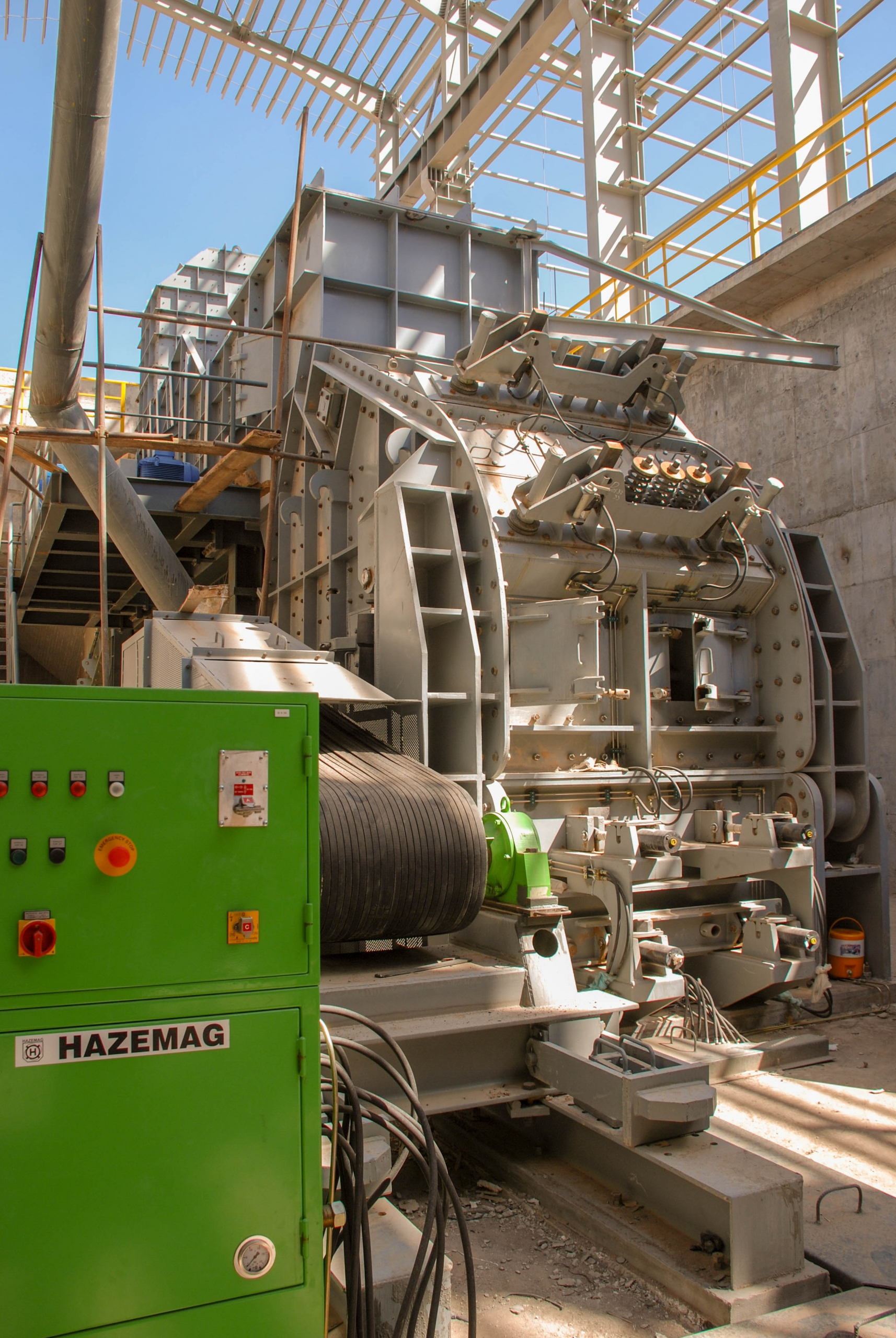 Crusher of Naein Cement-28