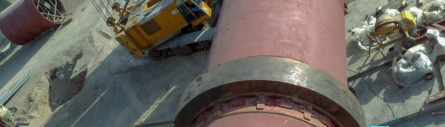 Rotary Kiln of Naein Cement-28