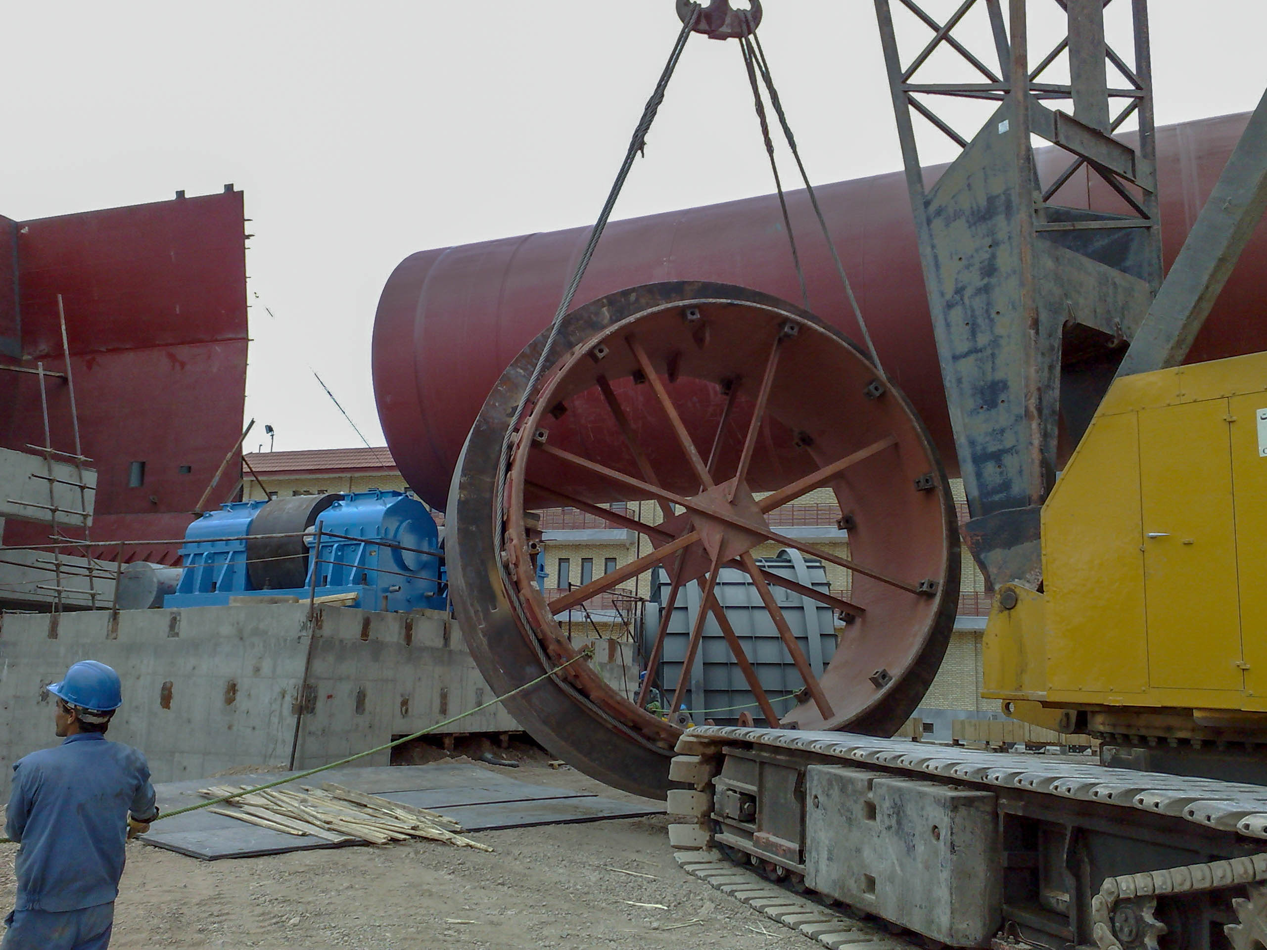 Rotary Kiln of Naein Cement-29