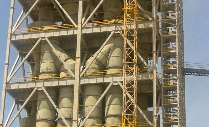 Preheater of Naein Cement-31