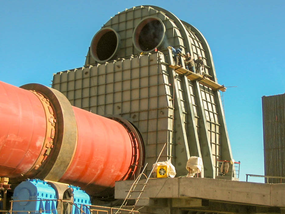 Rotary Kiln of Naein Cement-32