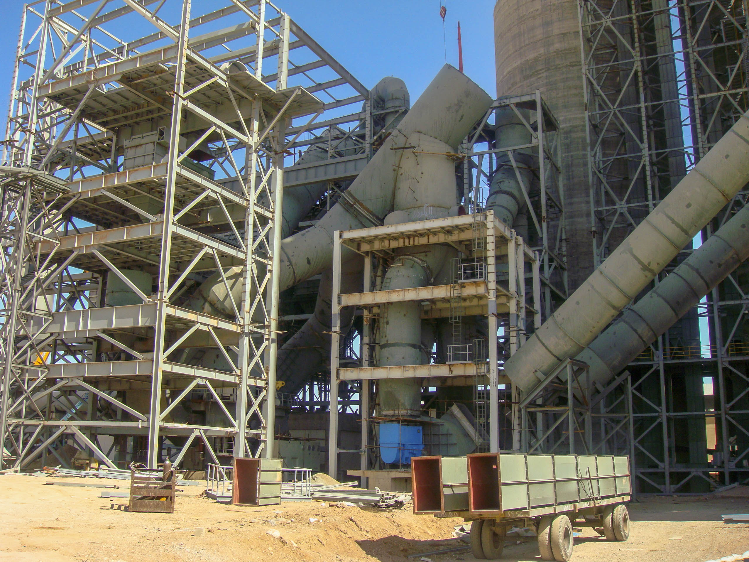 Vertical Mill of Naein Cement-32