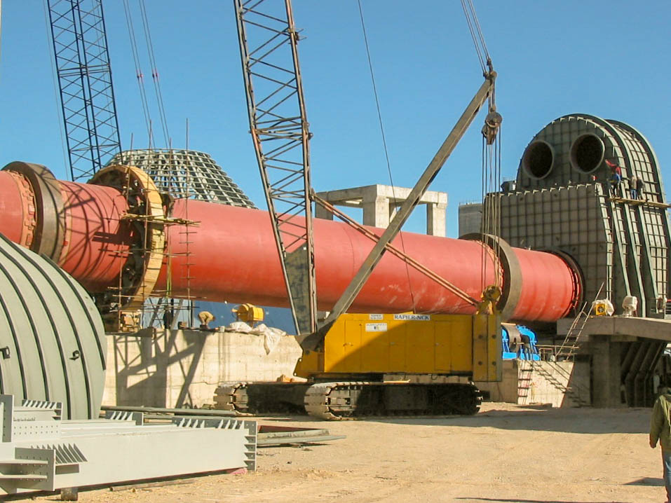 Rotary Kiln of Naein Cement-34