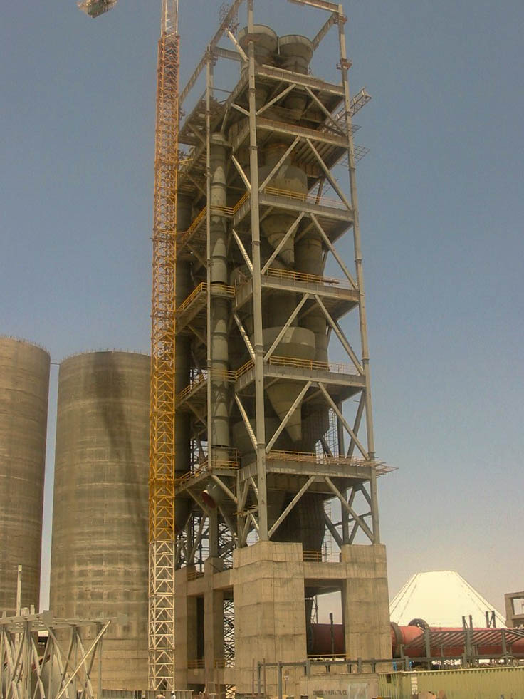 Preheater of Naein Cement-34