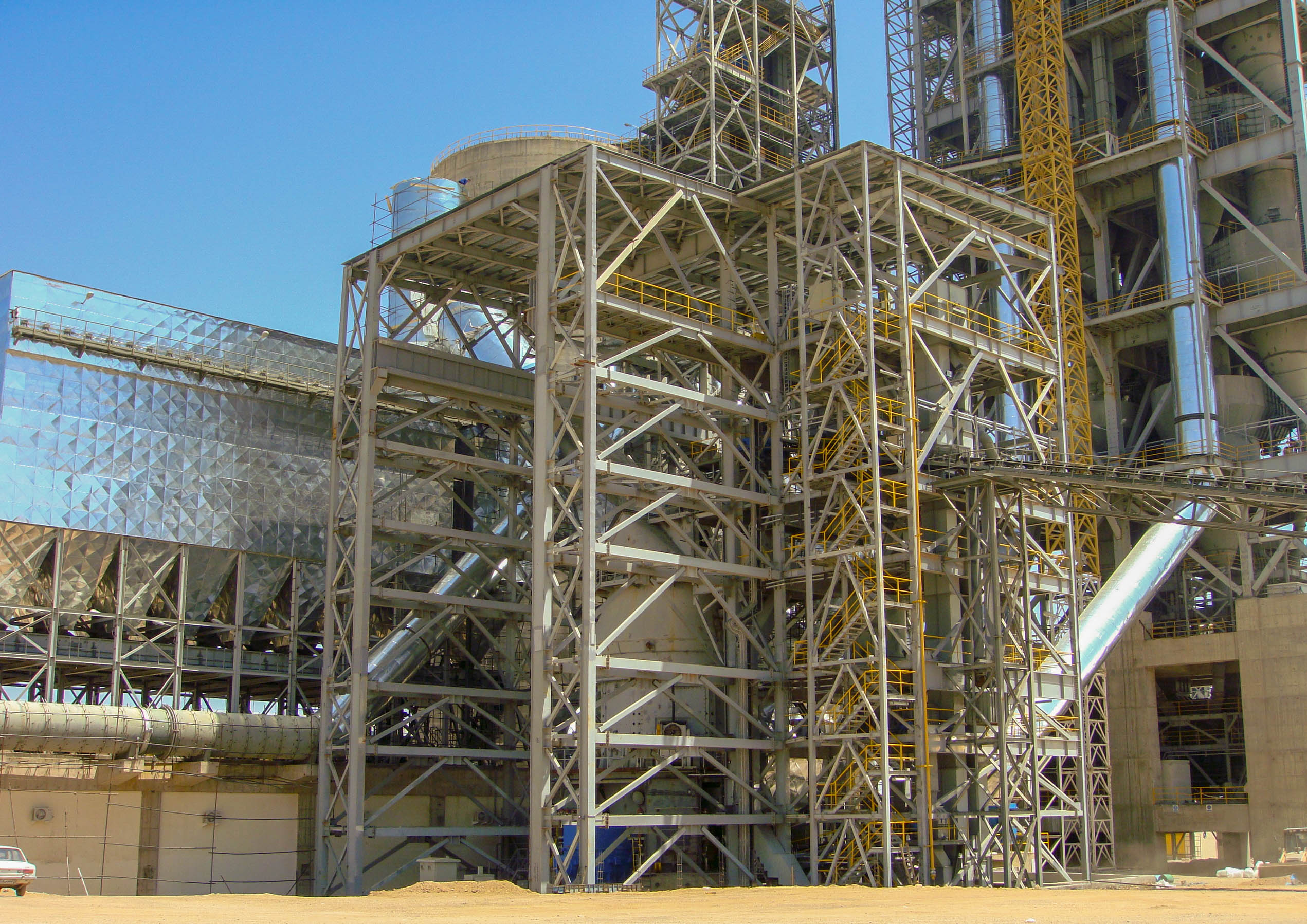 Vertical Mill of Naein Cement-35