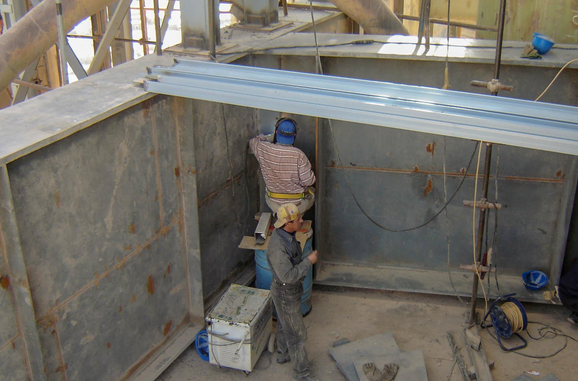 Upgrading of Hegmatan cement