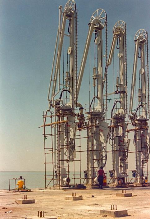 Loading Arms – Mahshahr Petrochemical Free Zone