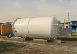 Carbon Active Filter Vessel-Power Plant Utility for South Pars 15 & 16