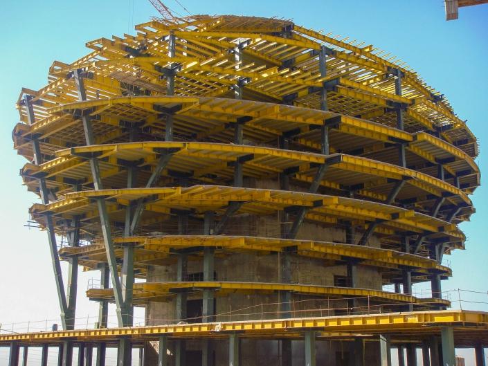 Steel Structure of IINI HOSPITAL-Tehran