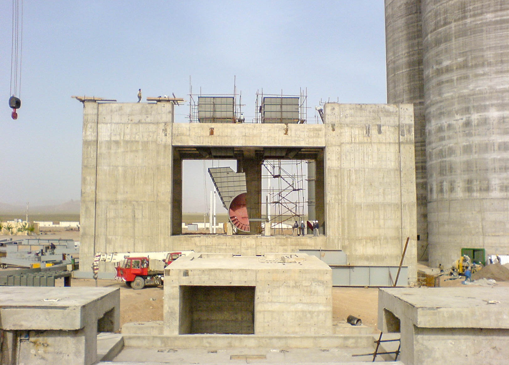 Preheater of Naein Cement-1