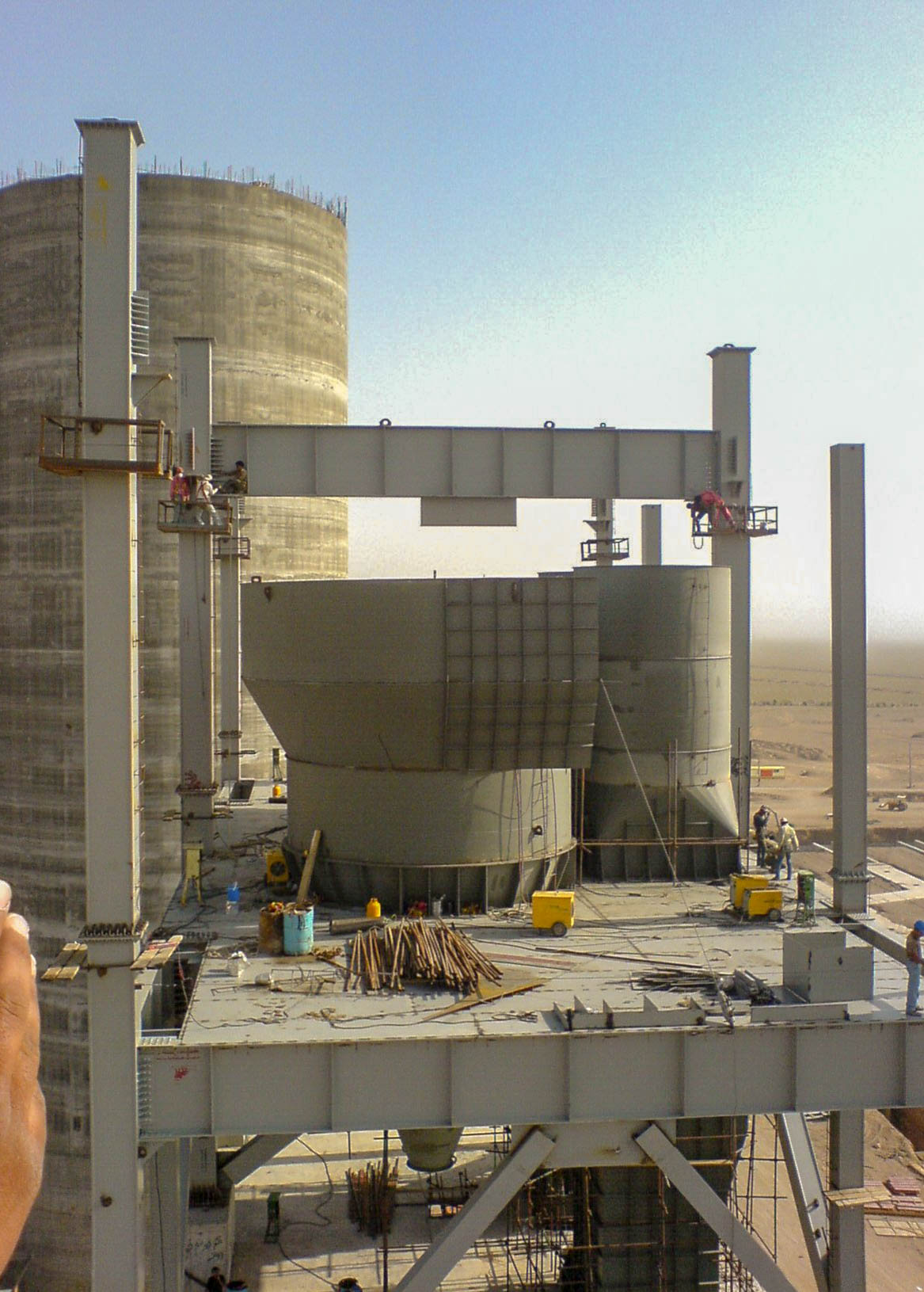 Preheater of Naein Cement-13