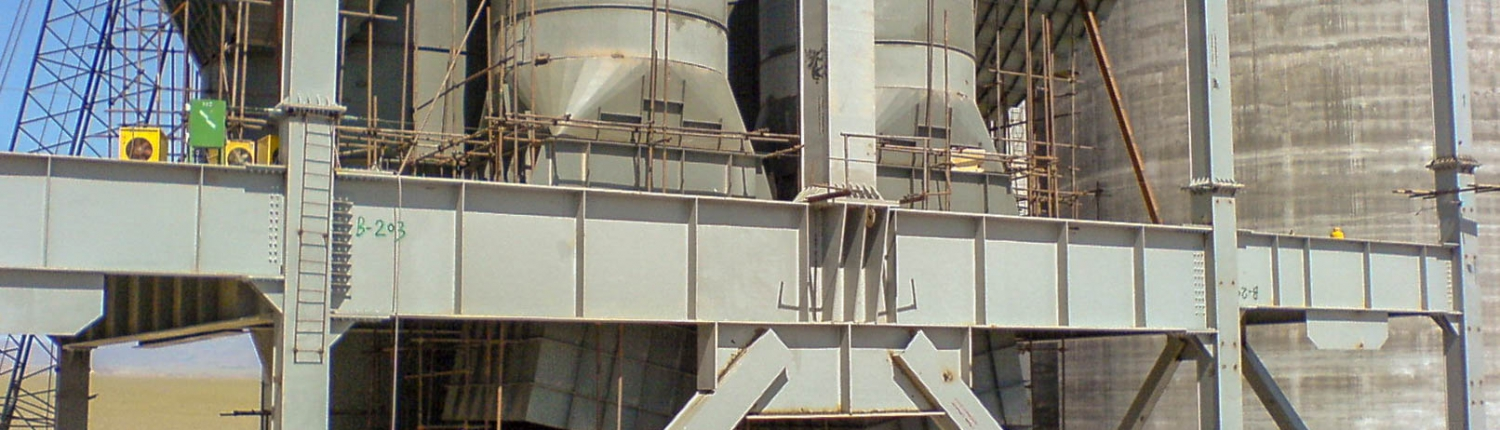 Preheater of Naein Cement-15