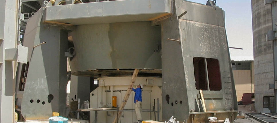 Vertical Mill of Naein Cement-15