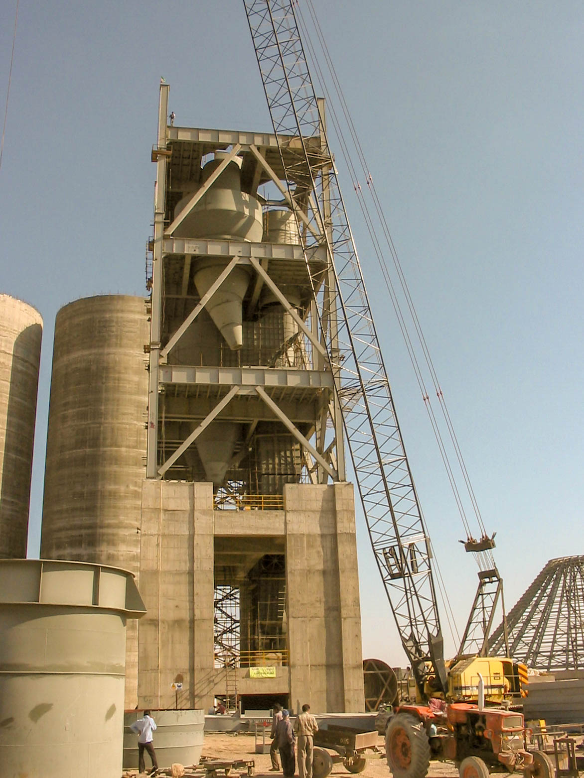 Preheater of Naein Cement-19
