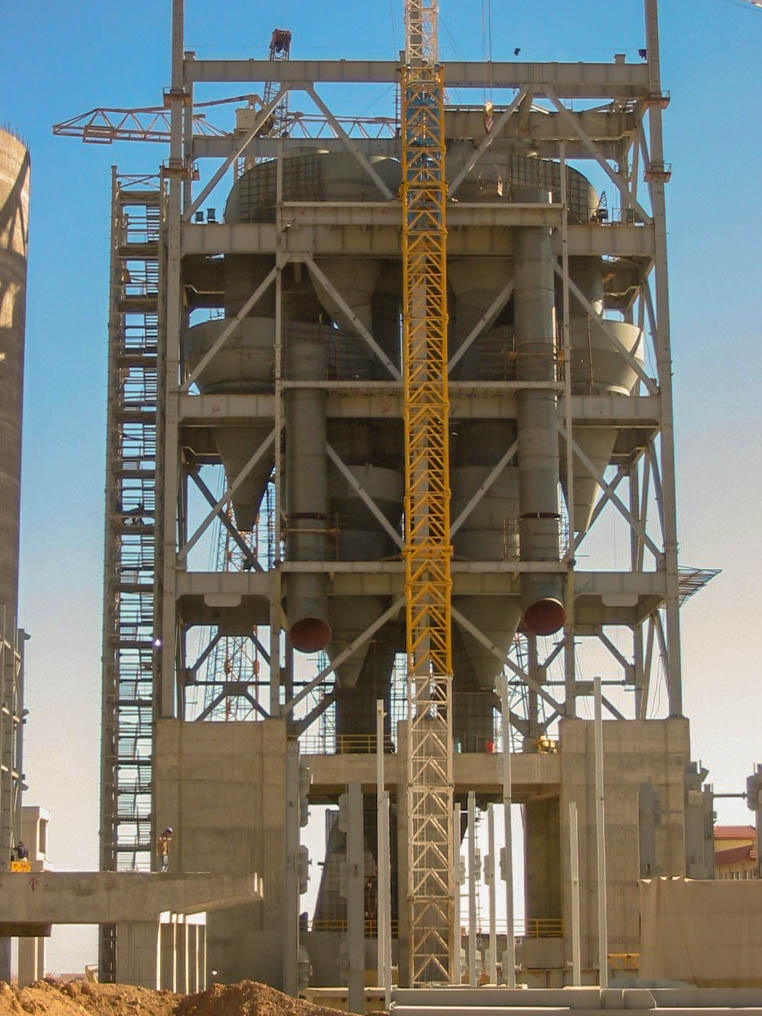 Preheater of Naein Cement-21