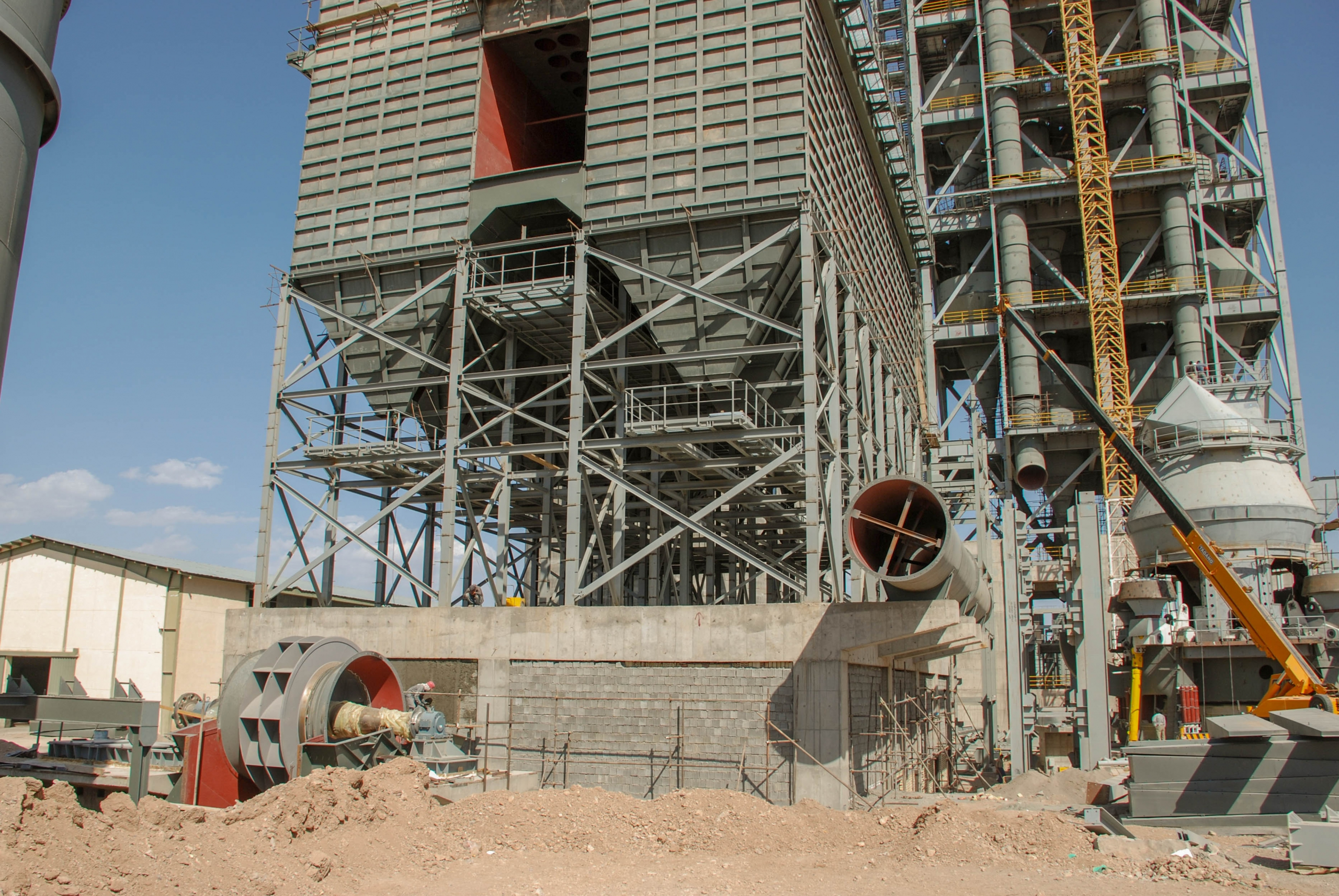 Bag House of Naein Cement-27