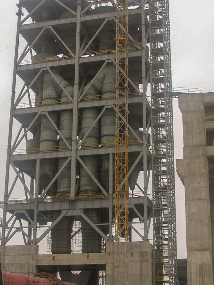 Preheater of Naein Cement-29