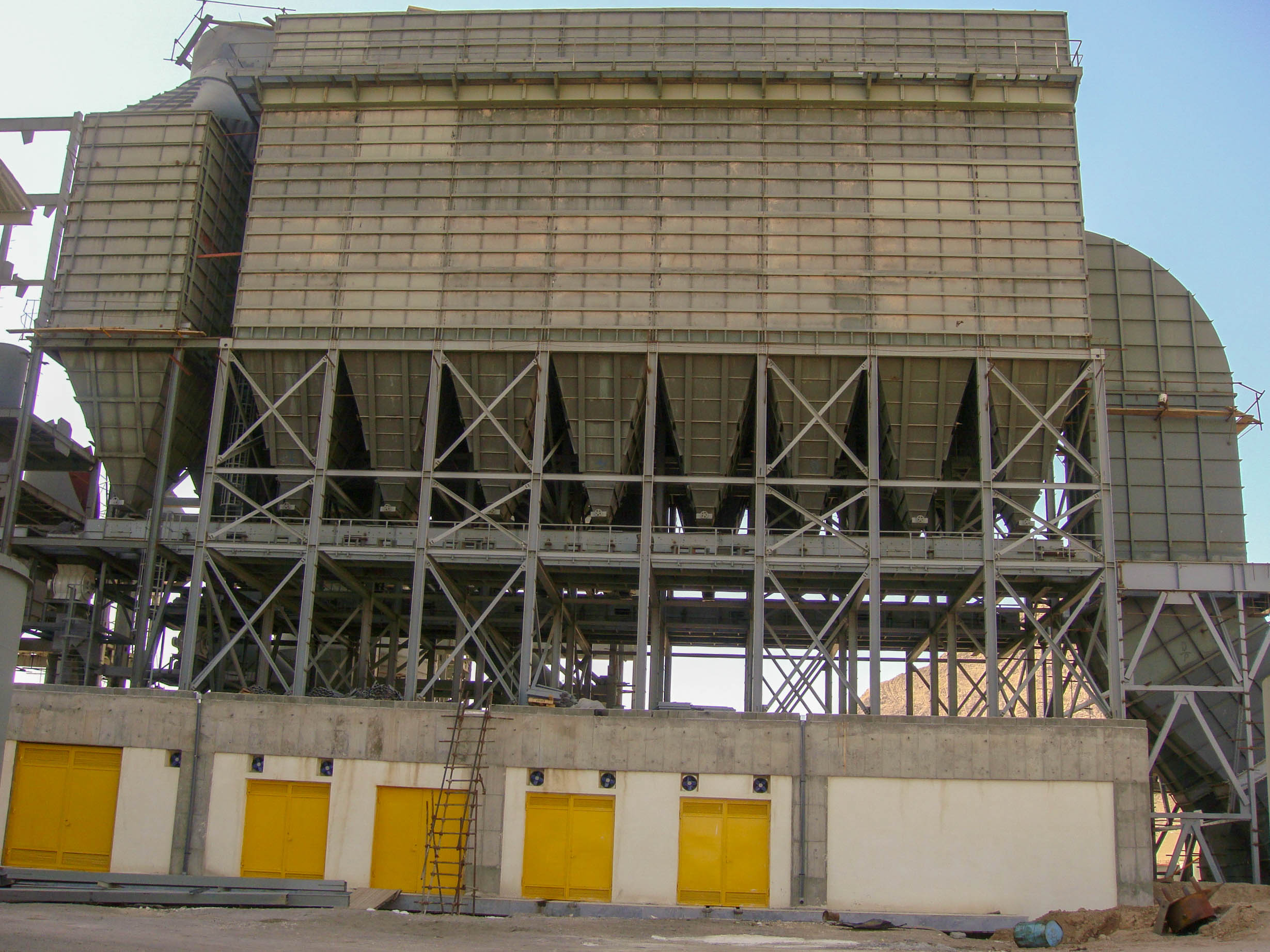 Bag House of Naein Cement-28