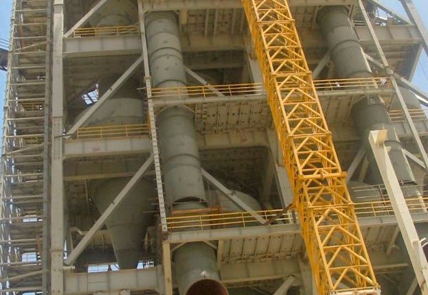 Preheater of Naein Cement-33