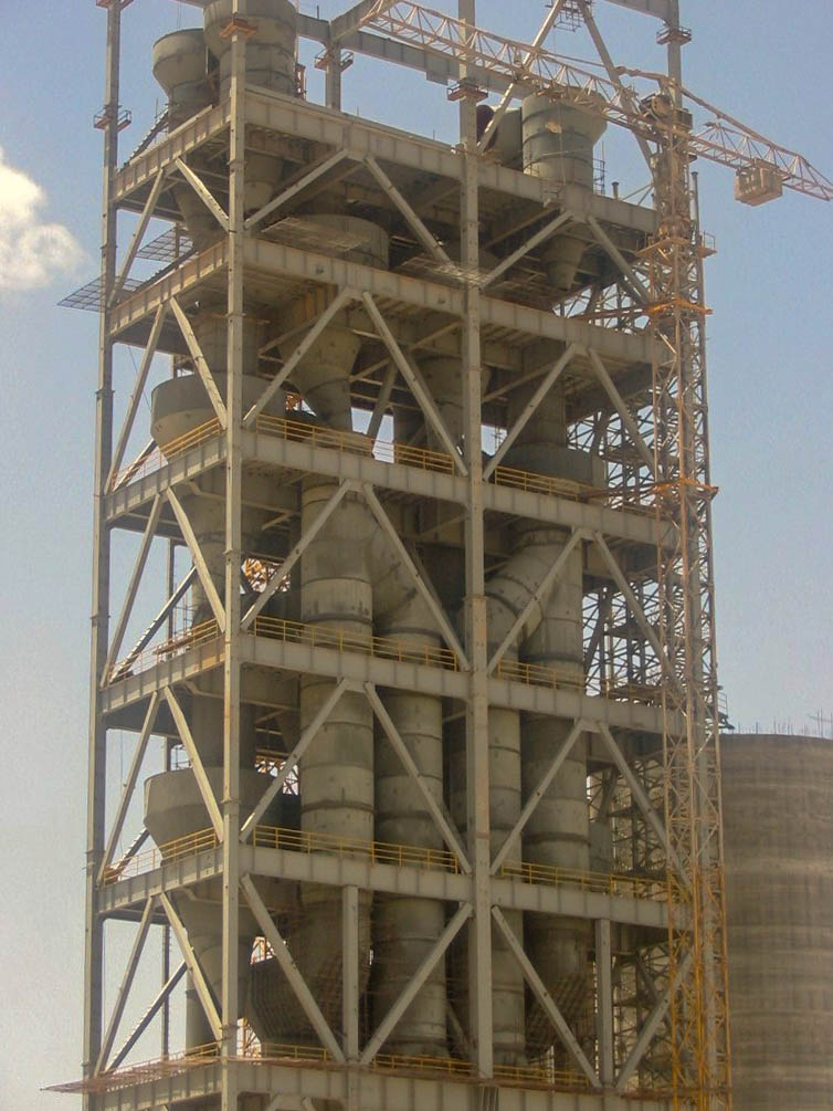 Preheater of Naein Cement-35