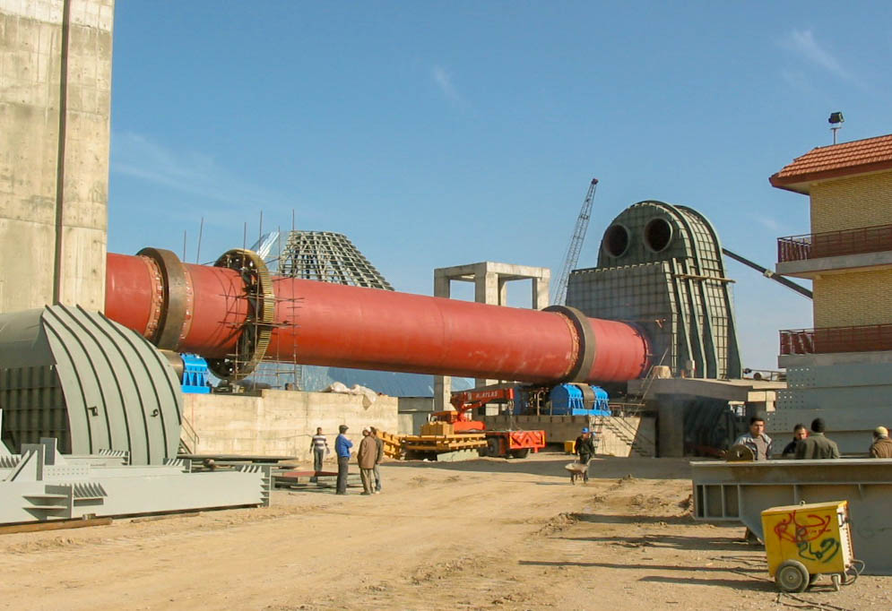 Rotary Kiln of Naein Cement-36