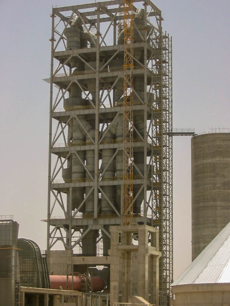 Preheater of Naein Cement-36