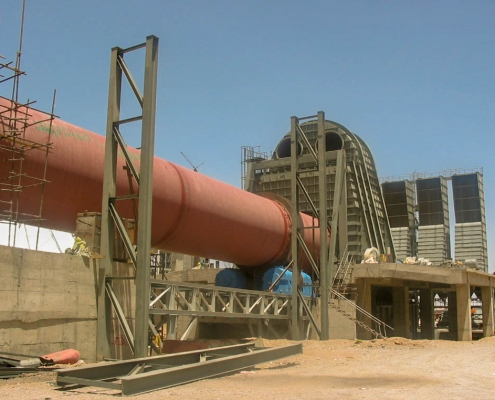 Rotary Kiln of Naein Cement-39